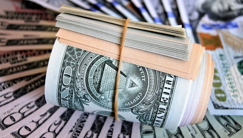 dolar-banknoten